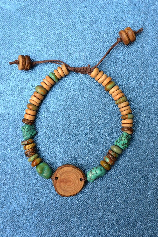 Men 39 S Bracelet All Natural Bracelet Apple Wood