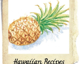 Chicken, Hawaiian, Hawaiian Chicken Recipe, pdf recipe