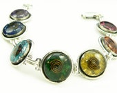 Orgone Energy Bracelet - Chakra Rainbow Bracelet - Chakra Gemstones - Balance and Healing - Artisan Jewelry