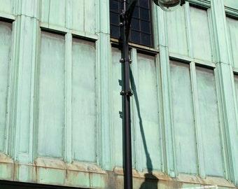 Industrial Lamp Post, Boston Urban Detail, Near Charles River - 5x7 Fine Art Photograph