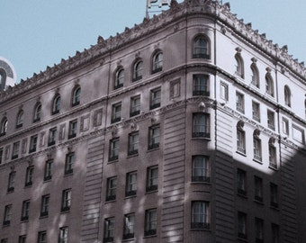 The Palace Hotel, San Francisco, Art Deco Historical Architecture, 8x12 Fine Art Travel Photograph