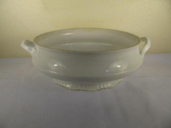 Vintage Ironstone Serving Bowl