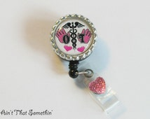 Occupational Therapy/Therapist Retractable Badge Reel