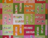 "Two Cute  quilt pattern  44"" x 55"""