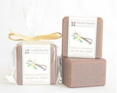 Vanilla Oatmeal Soap -  Handmade Soap, Olive Oil Soap, Natural Soap Bar, Cold Process Soap