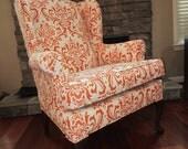Accent Chair- Orange Pekoe