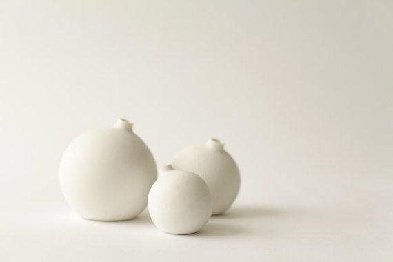 Set of 3 Bud Vases (Small, Medium, and Large)