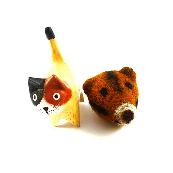 Marmot Ground Squirrel Wool Catnip Cat Toy