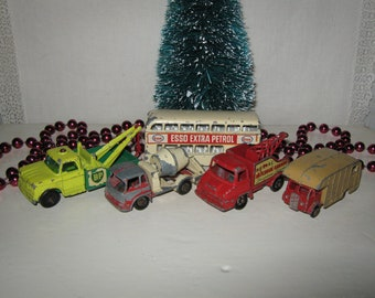 Lesney Matchbox Metal Trucks Made in Great Britain Lot of Five