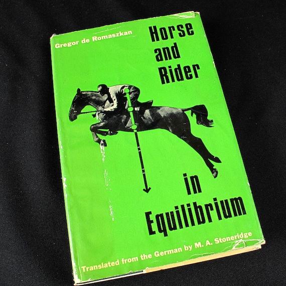 Equine book Horse & Rider in Equilibrium HC/DJ  1967