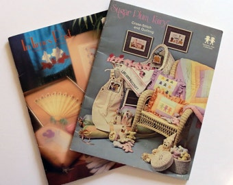 Two Cross Stitch and  Quilting Booklet