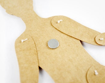 Accessory - A Little Magnet for Articulated Paper Doll