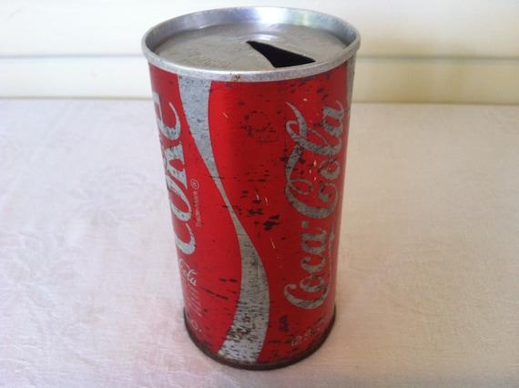 vintage coca cola can pull tab. Black Bedroom Furniture Sets. Home Design Ideas