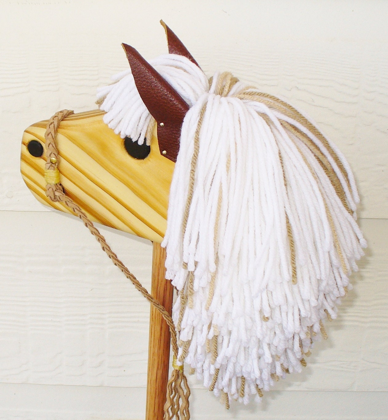 All Wood Stick Horse Pattern