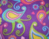 Paisley Printed Seatbelt Pillow