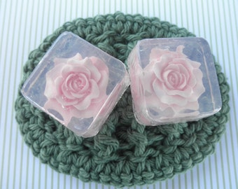 Rose Soap Favors