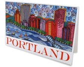 Rose City Greeting Card