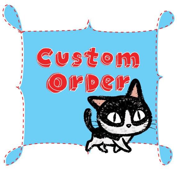 CUSTOM ORDER For SUSAN / Blue Elephant / Single Rocker Light Switch Plate Cover / Baby Nursery Decor / Blue and White