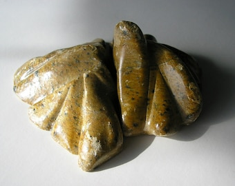 Abstract Soapstone Sculpture Volcano