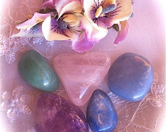 Child's First gem and crystal set with descriptions and blessing