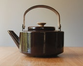 Michael Lax Kettle in Dark Brown - Copco