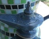 Custom Ceramic Genie, Aladdin Lamp, Blue