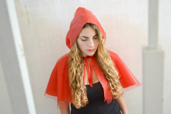 little red riding hood - adult costume, Halloween, cape, womens