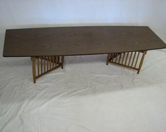 SALE Mid Century Modern, danish, retro, vintage Kroehler Verve coffee table walnut