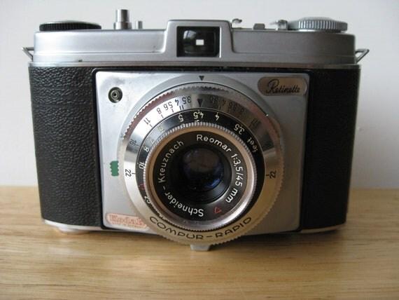 VIntage Kodak Retinette 35mm Camera