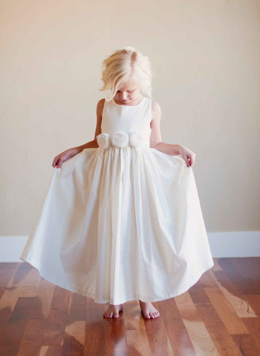 flower girl dress rustic flower girl bridesmaid dress. Black Bedroom Furniture Sets. Home Design Ideas