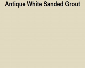 Mosaic Grout Antique White SANDED One Pound