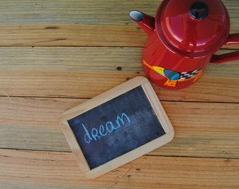 vintage - wood framed - school slate - chalkboard