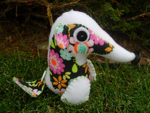 Badger Countryside Softie Soft Plush Plushie Art Doll Stuffed Animal Woodland Animal Cute