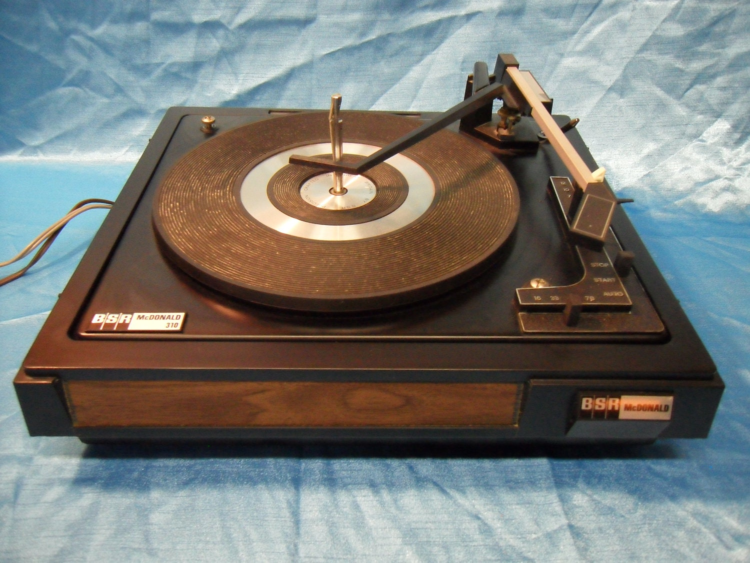 Vintage Bsr Mcdonald 310 Turntable Budget Entry Level