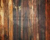 2ft x 2ft Old Grungy Dark Floor wood Floordrop Vinyl Backdrops / PRODUCT Backdrop