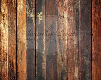 LARGE 5ft x 5ft Old Grungy Dark Floor Floordrop Vinyl Backdrops