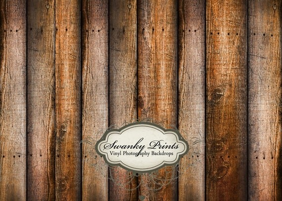 6ft x 5ft Vinyl Photography Backdrop for Newborns, Babies and Children Weathered Tan Brown Wood