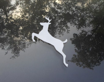 Jumping Buck Decal - Choose any color
