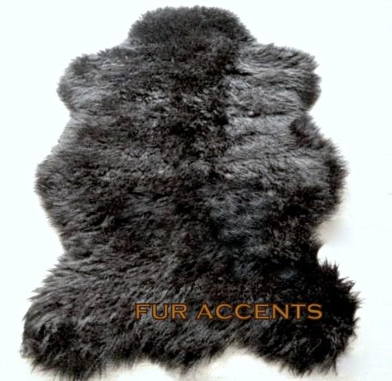 Items Similar To Faux Fur Sheepskin Accent Rug, Bear Skin