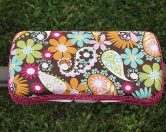 Baby Wipes Case, Travel Wipes Case, Multi-Color Floral Boutique Wipes Case