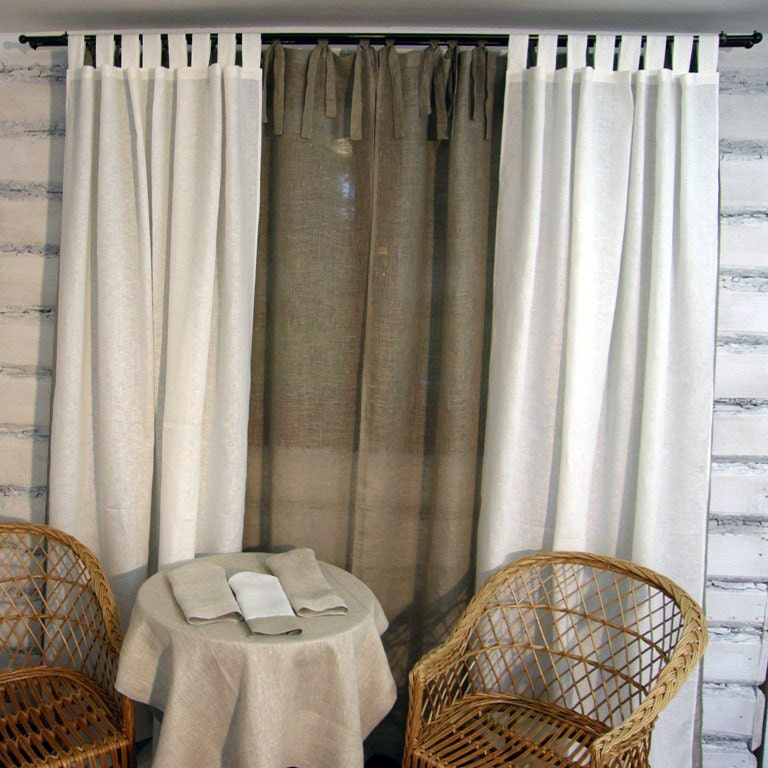 Silver Curtains And Bedding Grommet Top Curtains