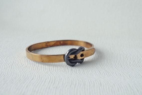 LIMITED Vintage Bangle : Spring Jewelry - Brass Vintage Bangle