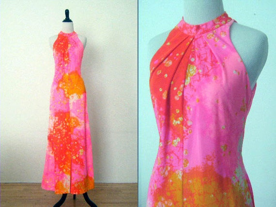 Vintage 1970's Lounger Jumpsuit by H / B Jrs. of California