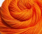 Orange CC for Deconstructed 5 Color Rainbow, Hand Dyed Fingering/Sock Yarn, MCN