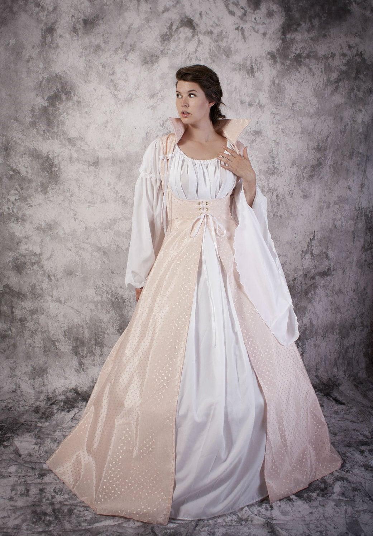 Renaissance Wedding Dress Medieval Fair Gown Princess