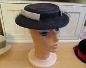 Vintage Straw Ladies Hat, Great Condition