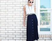 Deep Plum Prairie Skirt