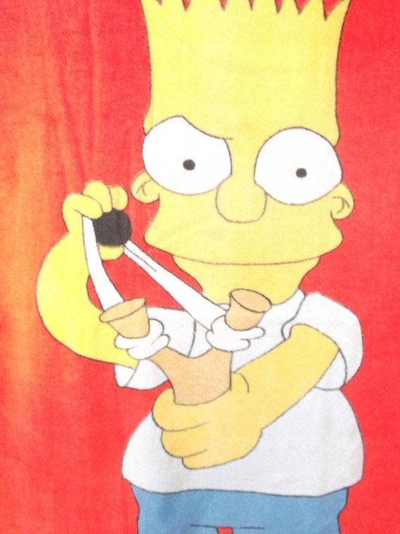 Bart Simpson beach towel circa 1990