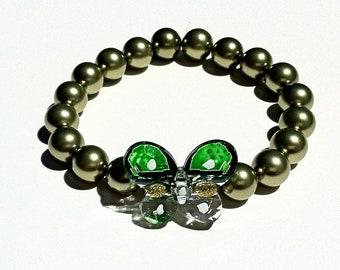 Mco Green Butterfly Bracelet