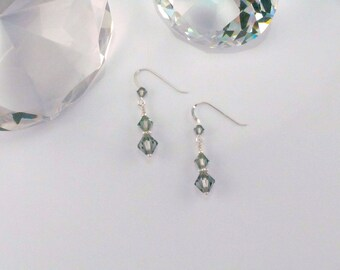Swarovski Crystal Dangle Drop Earrings